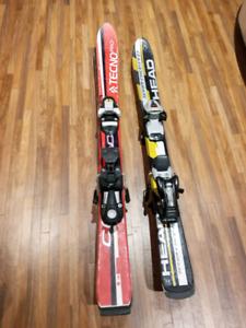 Skis alpin pour enfants