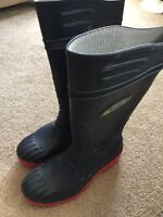 Steel Toed Rubber Boots - CSA Approved