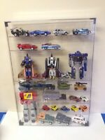 Brand new display cases for toys n collectibles