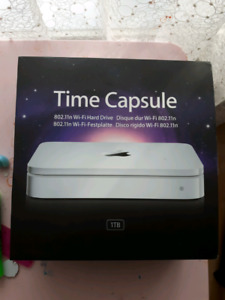 Apple Time capsule 1 TB wifi HDD backup