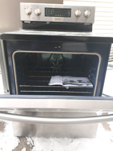 Stainless steel stove brand new