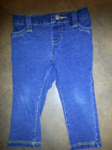 Legging de jeans CHILDREN PLACE 9-12 mois