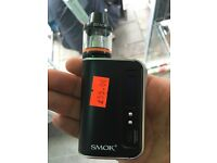 Smok ecig mod tank vapour vjuice high vg new
