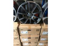"18"" alloy wheels Alloys Rims tyre tyres 5x112 Vw Volkswagen Seat Skoda audi"