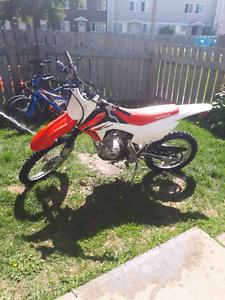 2014 125 Honda CRF fbe dirtbike