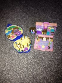 Vintage Polly pockets x 2