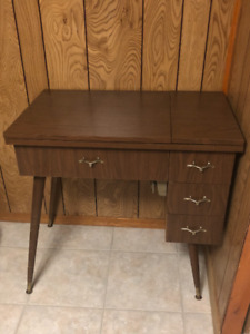 Sewing Table with Drawers