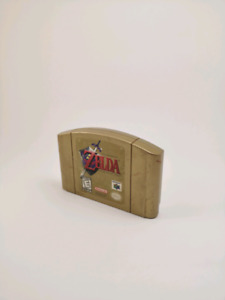 Zelda ocarina of time ( special edition gold) n64