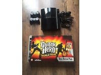 PlayStation 3, 8 games plus guitar hero