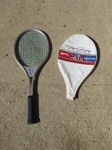 Metal Slazenger Tennis Racquet with case