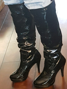 SEXY KNEE HIGH BOOTS 7.5