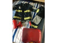 Fire fighter outfit 3-4 years