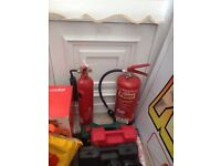 Foam and CO2 extinguisher for sale