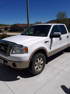 2007 Ford F-150 SuperCrew King Ranch 4 x 4 Pickup Truck