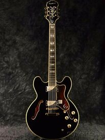 Epiphone Sheraton II - Ebony Excellent condition!