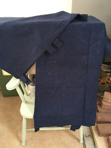 Navy Blue Panel Curtains