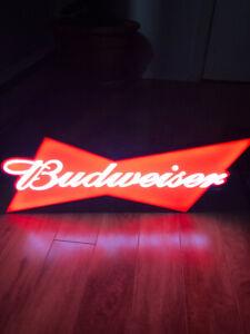 Enseigne de bar Budweiser