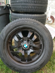 New tires and original BMW rims for sale