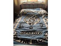 Rare vintage mancity bed spread