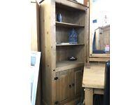 Ex display corona 2 door bookcase / display unit