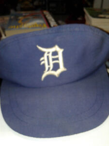 DETROIT TIGERS 2 IN 1 -HAT- CAP-VISOR-EXTREMELY RARE-VINTAGE CON