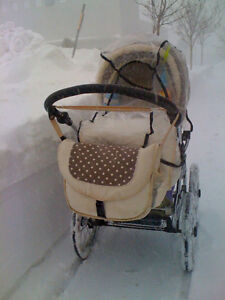 REDUCED: Gorgeous European Pram with all the frills! St. John's Newfoundland image 3