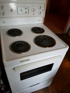 Stove reduced 23inch x 24 inch surface
