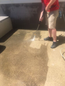 Pressure Washing in Hamilton with FREE Window Cleaning
