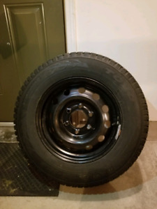TOYO G3-Ice winter tires 225/70R16 with Rims (6 bolts)