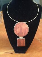 Funky Wood Necklace