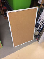 3 Sizes of Cork Boards all for $25. 2 Large and One Small.   On