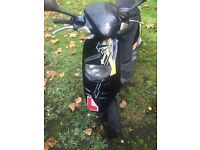 VERY RAPID TYPHOON 70CC REGISTERED AS 50CC MINT CONDITION
