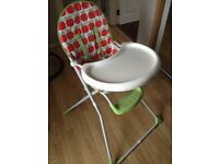 Mothercare highchair.