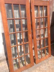 Quality hardwood doors