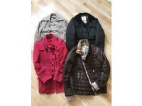 Bundle of ladies winter designer coats and jackets - Next & Diesel