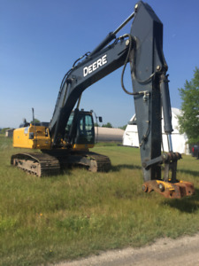 DEERE 350 G LC AND ROCK GRINDER WITH LOW HOURS