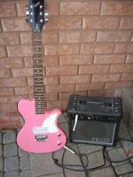 Electric Guitar & Amplifier
