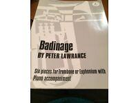 Badinage sheet music