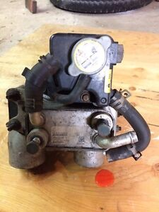 Ford 6.4 litre fuel cooling rad and pump