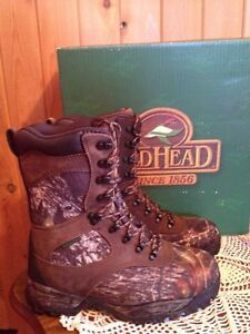 Women's Redhead Expedition Hunting Boots Mossy Oak Camo 8.5