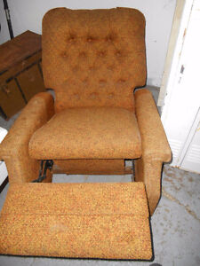fauteuil ancien inclinable