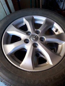 215/60/16 TIRES ON 2009 TOYOTA CAMRY RIMS