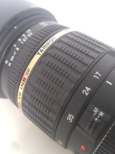 Tamron SP 17-50mm f/2.8 DII VC USD Lens for EF Canon Camera Mint