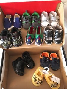 0-6 month Boys shoes! Like new!