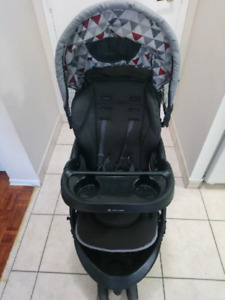 Baby Trend stroller and baby car seat