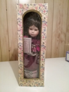 Porcelain Dolls all in excellent condition $65 each