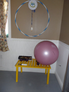 toys  exercise equipment for the young