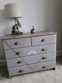 Love Bespoke Painted Chest Of Drawers