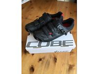 Cube race pro cycling shoes size 9