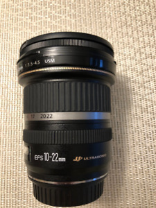 CANON ULTRA WIDE ANGLE ZOOM LENS